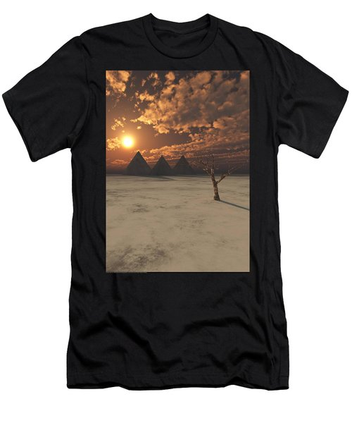 Lost Pyramids Men's T-Shirt (Athletic Fit)