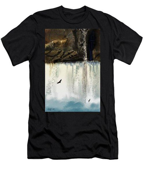 Lost River Men's T-Shirt (Slim Fit) by J Griff Griffin