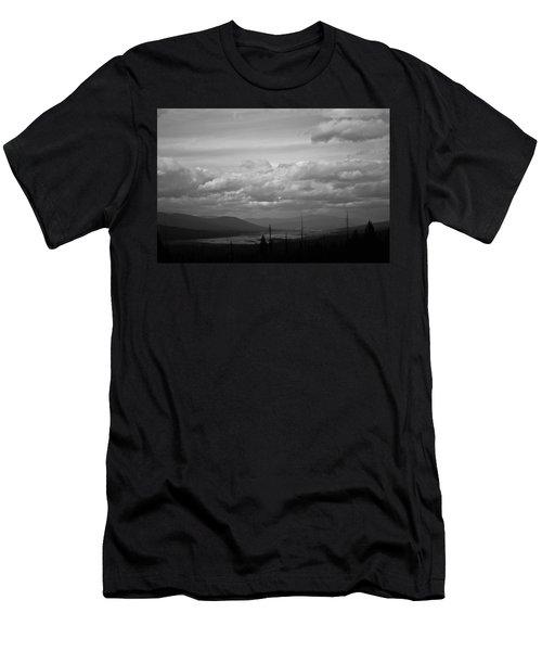 Lost Trail Wildlife Refuge Men's T-Shirt (Athletic Fit)