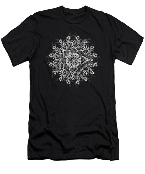 Lotus #1 Inverted Men's T-Shirt (Athletic Fit)