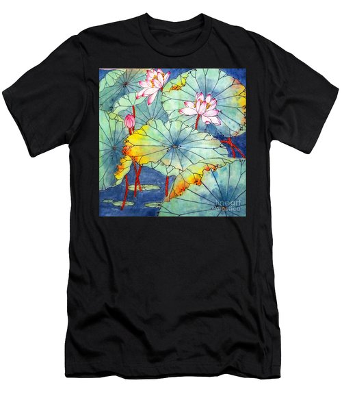 Lotus #2 Men's T-Shirt (Athletic Fit)