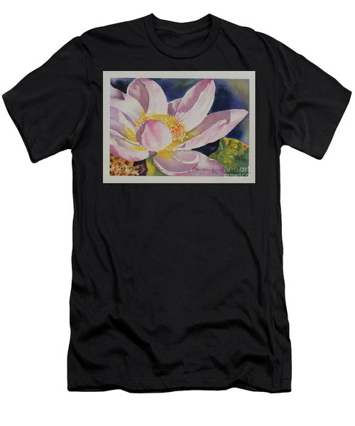 Lotus Bloom Men's T-Shirt (Athletic Fit)