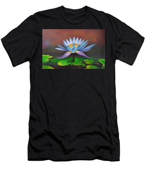 Lotus Blossom Men's T-Shirt (Athletic Fit)