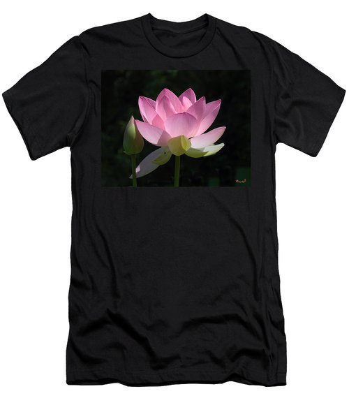 Lotus Bud--snuggle Bud Dl005 Men's T-Shirt (Athletic Fit)