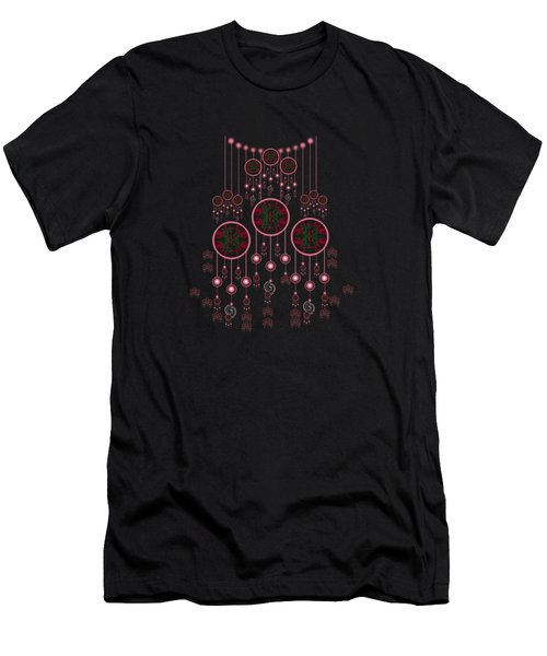 Lotus Design Men's T-Shirt (Athletic Fit)