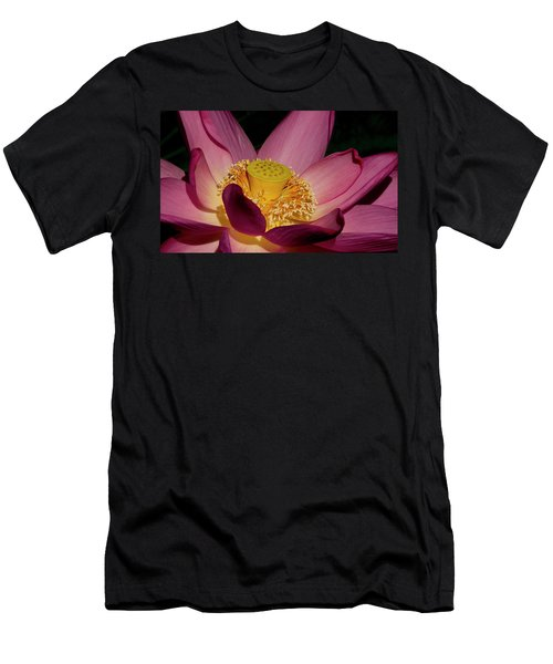 Men's T-Shirt (Athletic Fit) featuring the photograph Lotus Flower 6 by Buddy Scott