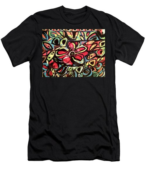 Lotus Petals Men's T-Shirt (Athletic Fit)