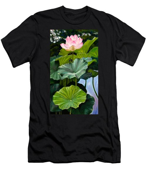 Lotus Rising Men's T-Shirt (Athletic Fit)