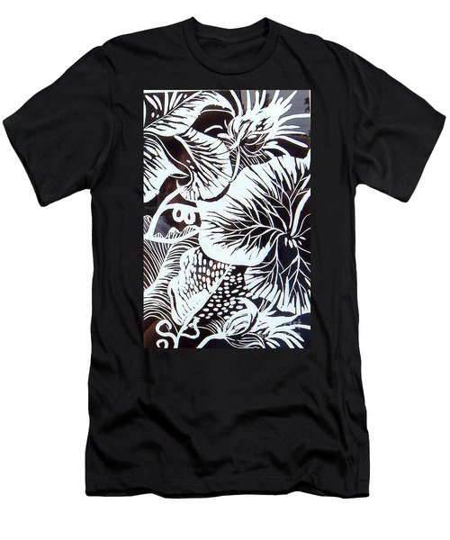 Loud Leaves  Men's T-Shirt (Athletic Fit)