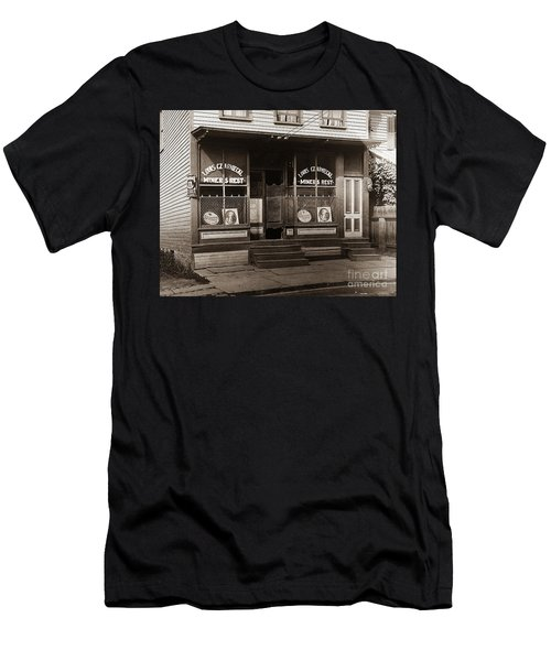 Louis Czarniecki Miners Rest 209 George Ave Parsons Pennsylvania Men's T-Shirt (Athletic Fit)
