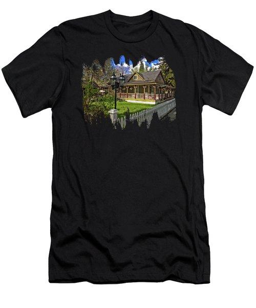 Louis Prang House Men's T-Shirt (Athletic Fit)