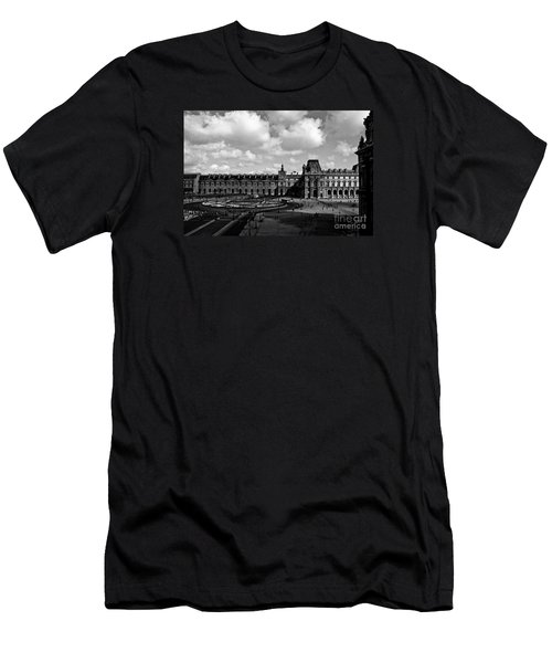Men's T-Shirt (Athletic Fit) featuring the photograph Louvre Museum by M G Whittingham