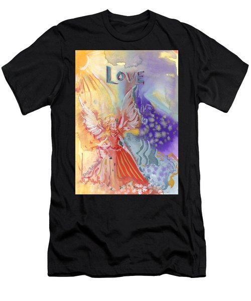 Love Angel Men's T-Shirt (Athletic Fit)