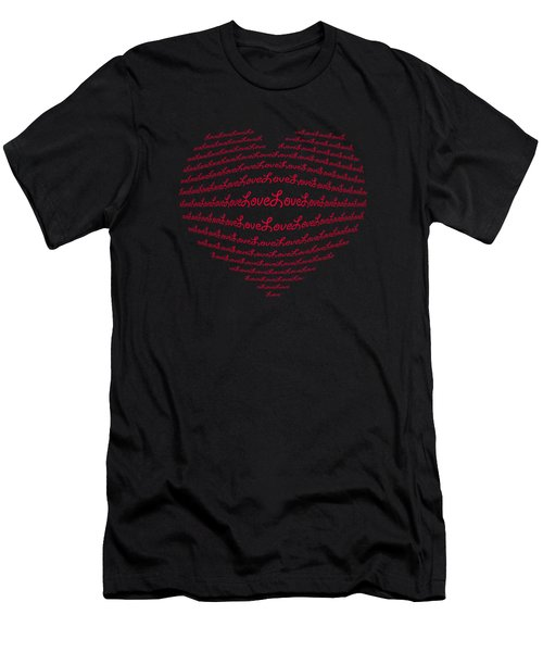 Love Boom Men's T-Shirt (Athletic Fit)