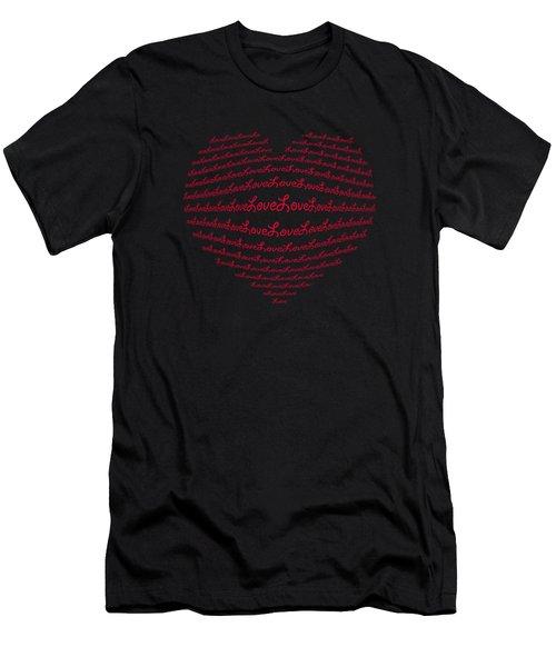 Love Boom Men's T-Shirt (Athletic Fit)