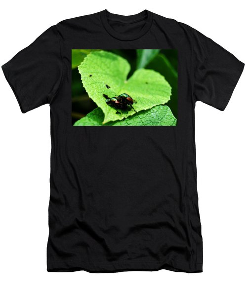 Men's T-Shirt (Athletic Fit) featuring the photograph Love Bugs by W And F Kreations