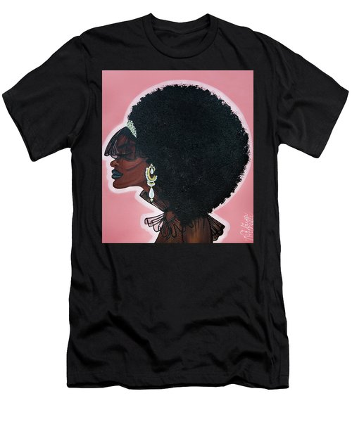 Men's T-Shirt (Athletic Fit) featuring the painting Love Don't Live Here Anymore by Aliya Michelle