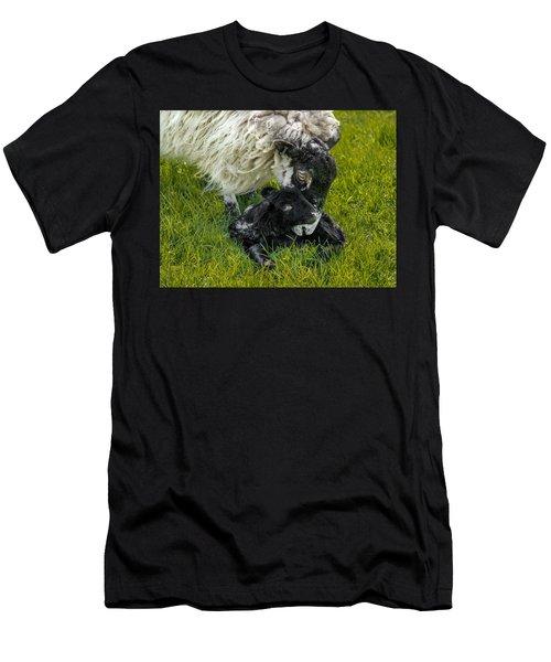 Just Born Men's T-Shirt (Athletic Fit)