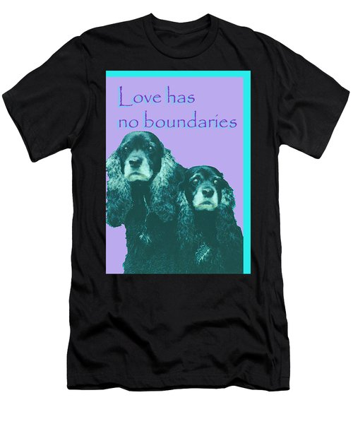 Love Had No Boundaries Men's T-Shirt (Athletic Fit)