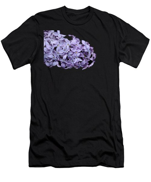 Love In Lilac Men's T-Shirt (Athletic Fit)