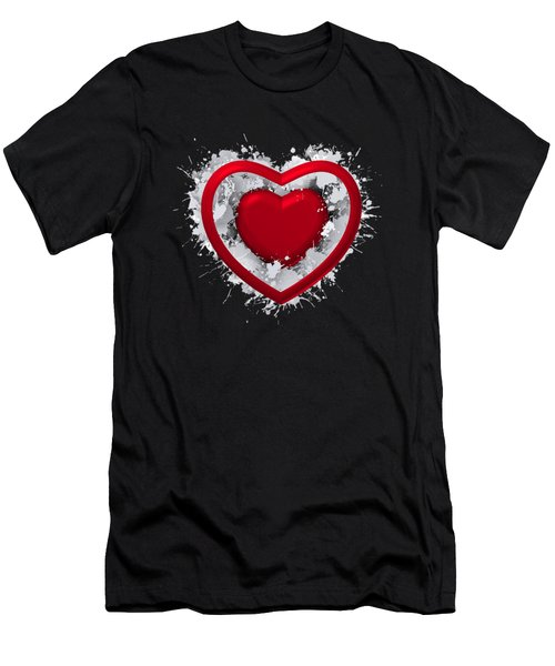 Love In Love Men's T-Shirt (Athletic Fit)