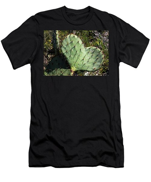 Love In The Desert Men's T-Shirt (Athletic Fit)