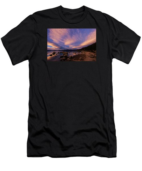 Love Is A Rocky Road Men's T-Shirt (Athletic Fit)