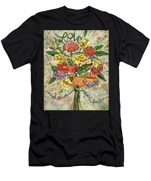 Love Is Patient Men's T-Shirt (Athletic Fit)