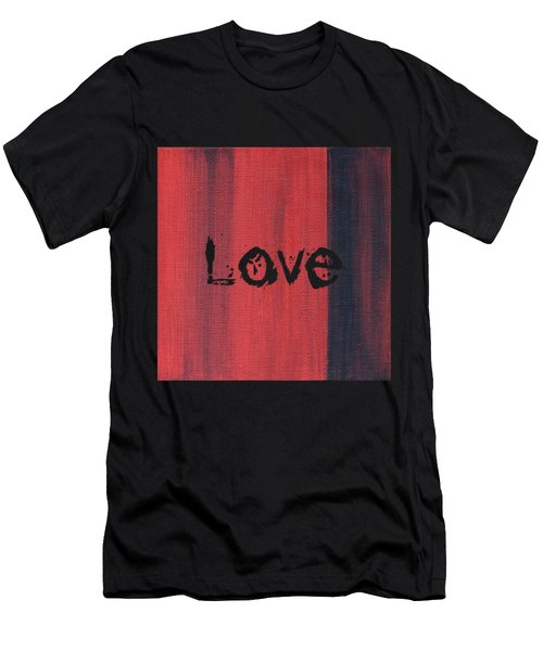 Love Men's T-Shirt (Athletic Fit)