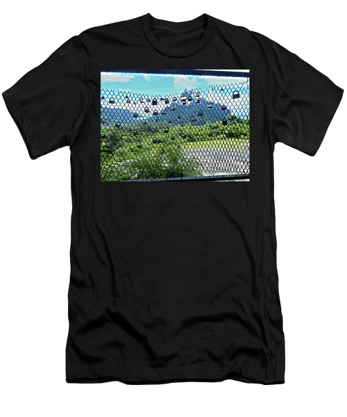 Love Locks In Moorea Men's T-Shirt (Athletic Fit)
