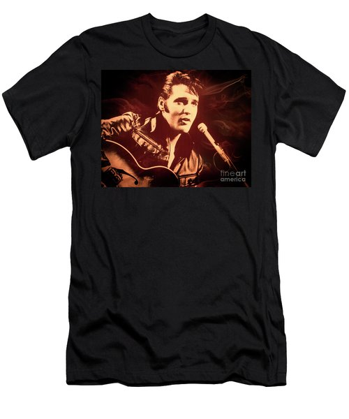 Love Me Tender Men's T-Shirt (Athletic Fit)