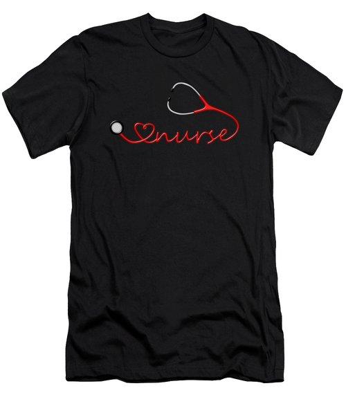 Love Nurse Men's T-Shirt (Athletic Fit)