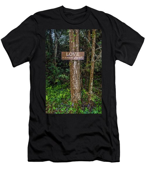 Love On A Tree Men's T-Shirt (Athletic Fit)