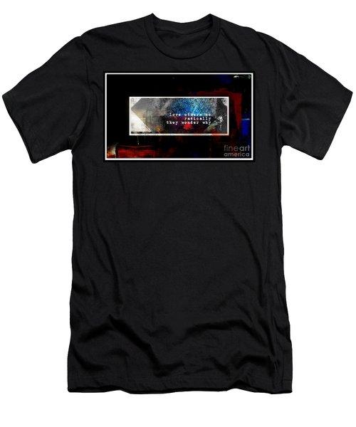 Love Radically I Men's T-Shirt (Slim Fit)