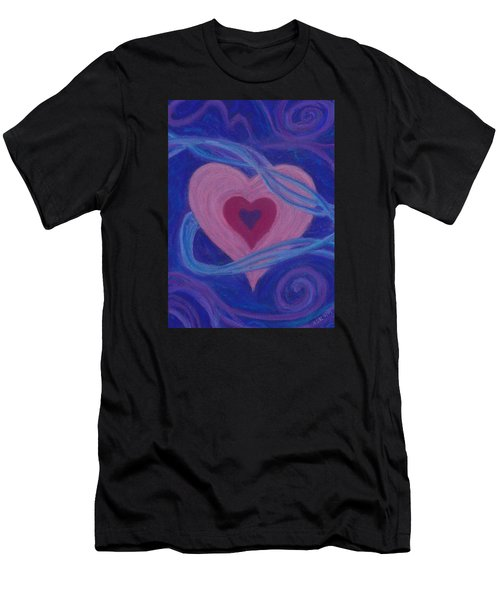 Love Ribbons Men's T-Shirt (Athletic Fit)
