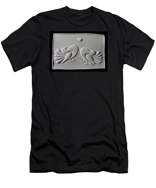 Men's T-Shirt (Slim Fit) featuring the relief Love by Suhas Tavkar