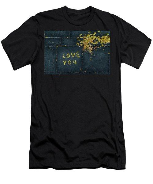 Love You Men's T-Shirt (Athletic Fit)