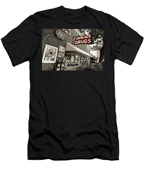 Lovelace Drugs Men's T-Shirt (Athletic Fit)
