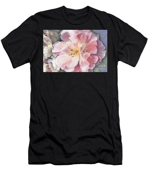 Loveliness Flower Men's T-Shirt (Athletic Fit)