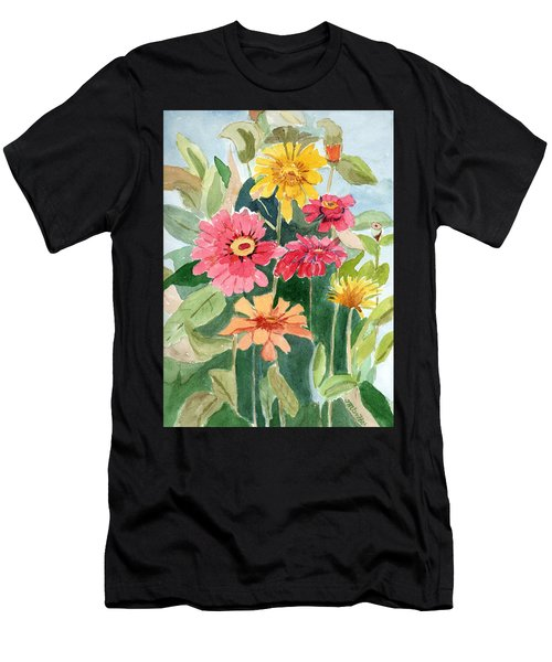 Lovely Flowers Men's T-Shirt (Athletic Fit)