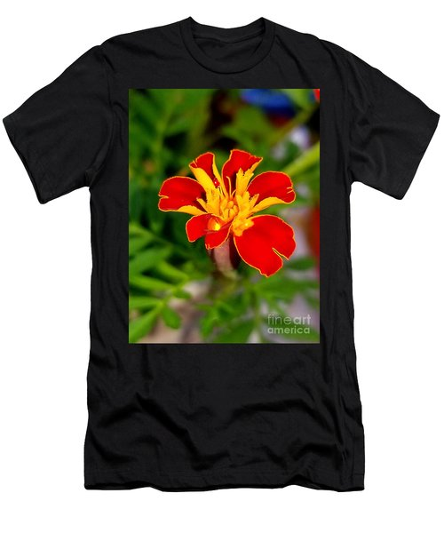 Lovely Little Flower Men's T-Shirt (Athletic Fit)