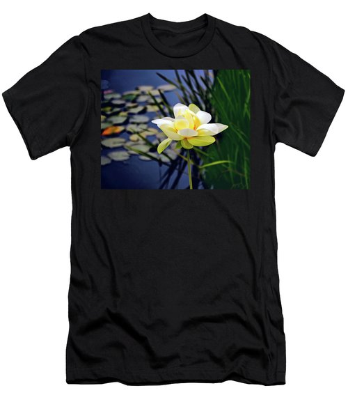 Lovely Lotus Men's T-Shirt (Athletic Fit)