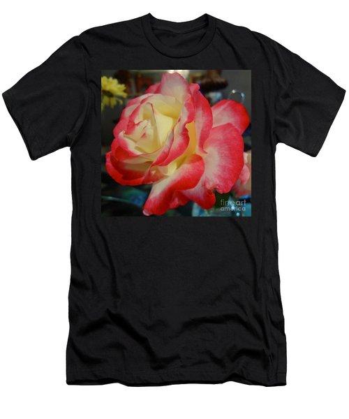 Lovely Rose Men's T-Shirt (Athletic Fit)