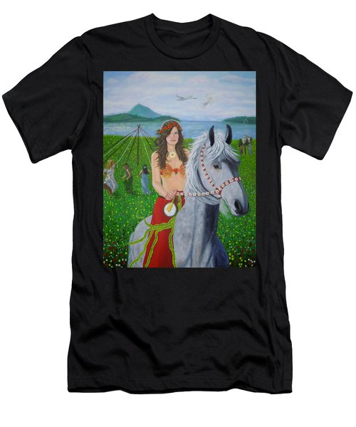 Lover / Virgin Goddess Rhiannon - Beltane Men's T-Shirt (Athletic Fit)