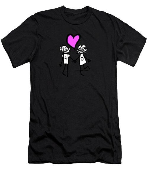 Lovers Men's T-Shirt (Athletic Fit)