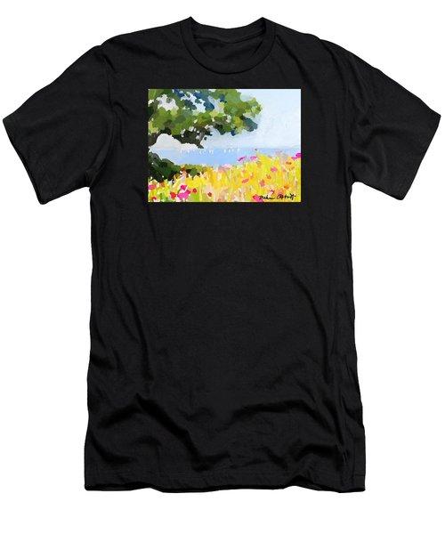 Lover's Lane, Rockport, Ma Men's T-Shirt (Athletic Fit)