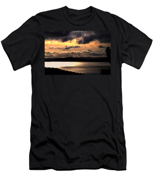 Lover's Sunset Men's T-Shirt (Athletic Fit)