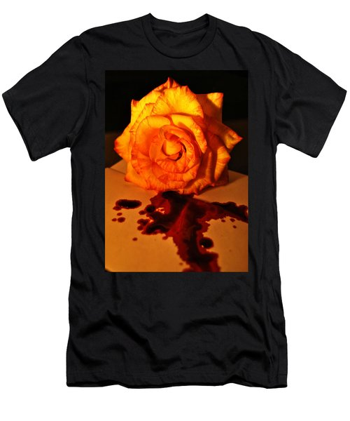 Loves Last Letter Men's T-Shirt (Athletic Fit)