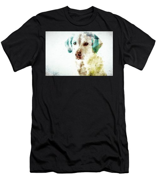 Loving Dog Men's T-Shirt (Athletic Fit)