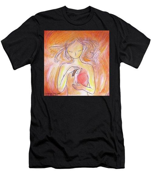 Loving Your Inner Child Men's T-Shirt (Athletic Fit)